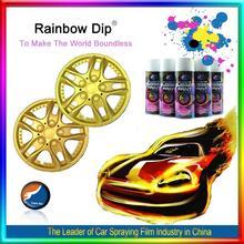 2014 hot sale 2013 msds multi-color spray rubber paint