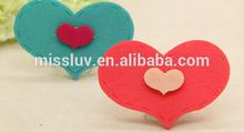 lovely cartoon velcro hair fringe holder Korea heart magic bang sticker clips cheap posted magic belt hair accessories gift