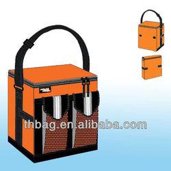 600d polyester foldable cooler bag
