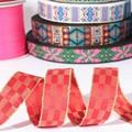 Venta al por mayor de seda del bordado de la cinta, la cinta nacional