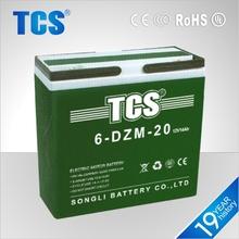e bike battery/ 12v 24ah 6-DZM-20 best price