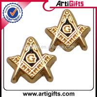 Promotional cheap metal custom masonic lapel pins