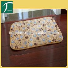 Printed coral shaggy decorative rug CPH-4