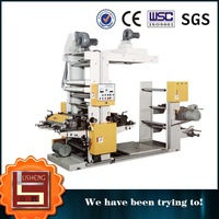1 color flexo printing machine printing simple logo and picture