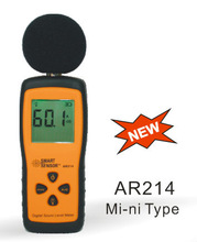 2-Low Battery Indication aircraft noise Digital Sound Level Meter AR214
