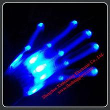 motion sensor blue gloves