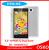 Cheapest 5 inch HTM M3 Dual Sim Celulare Android 4.2