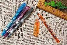 Promotion colorful erasable ballpoint pens