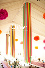 2014 new design crepe paper crinkled paper creping paper diy household decoration