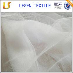 Lesen textile 100% nylon or polyester tulle mesh fabric