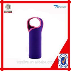 Neoprene bottle carrier bag