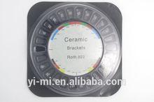 High quality Dental ceramic bracket Orthodontic ceramic Bracket/brace