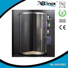 2014 ABLinox Moderh design 304 stainless steel steam portable shower room for bathroom