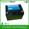 12v 40ah lithium iron lipo battery gb t18287dry batteries for ups