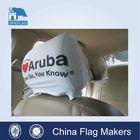 Good quality car flag mirror sock,standard car headrest cover,headrest covers for cars