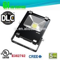 Top quality IP65 UL cUL(UL NO.E352762) DLC30w rechargeable floodlight