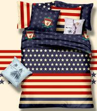 KOSMOS 100% cotton high quality bedding set brands bed sheet set printed bedding set made in china