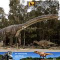 Mi dino- gran exposición de fibra de vidrio de la escultura de dinosaurios