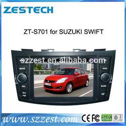 ZESTECH DVD Wholesale car radio for Suzuki Swift car radio In Car DVD GPS Sat Nav auto stereos 2 din head units