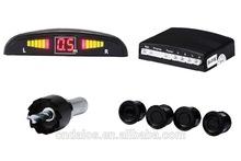 2015 High quality LED Parking Sensor System Car Reverse Backup Radar Auto ,2,4,6,8 Sensors