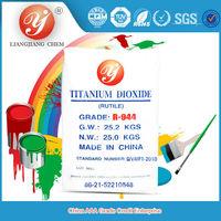 Hot Sale Liangjiang brand high quality titanium dioxide rutile 93% and anatase 98% titanium dioxide rutile welding electrode