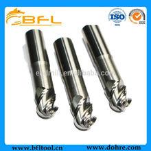 BFL-2/4 Flute Aluminum End Cutting Tools/4 Flute Uncoated Aluminum CNC Tools For Milling