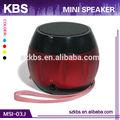 Promocional mini caja de sonido del altavoz portátil, compatible con micro sd/u- disco/fm