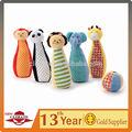 Cinco brinquedos animal, com uma bola, quente vendas dom