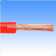 American standard THW AWG 8AWG,10AWG,12AWG,14 PVC sheath copper wire supplier