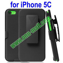 wholesale New Arrival Snap on Rubber belt clip case for iPhone 5S 5c