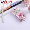 new design Hello Kitty light mini bar celular with LED dual SIM dual band mini bar phone