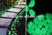 Garden glow in the dark stones