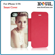 Sublimation Smart Filp Phone Cover For i Phone 5/5S