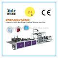 Automático no tejida ropa caja de máquina de fabricación de bolsas