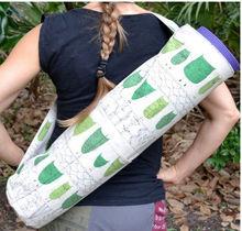 cute waterproof yoga mat gym bag, yoga sling bag, yoga bag