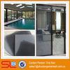 Australian Standard 1.2mx2.0m stainless steel security screen door mesh