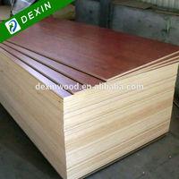 Furniture and Cabinet Grade E2, E1 or E0 Glue Applewood Melamine Plywood
