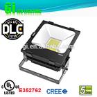 Top quality IP65 UL cUL(UL NO.E352762) DLC 70w LED flood light bridgelux