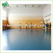 Homogeneous pvc vinyl dance floor for dance room
