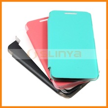 0.5mm Matting Smart Cover Case For HTC One M7 Flip Smart Case