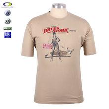 plain design white round neck t-shirt