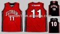 sublimada reversible malla de tela de baloncesto jersey uniforme de diseño