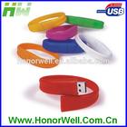 Promotional usb wristband flash memory free logo