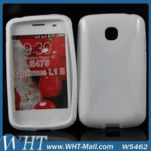 X Line Gel TPU Case For LG Optimus L1 II E475 Soft Cell Phone Case Factory Price