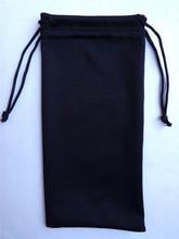 2014 fashion logo custom microfiber soft sunglasses pouch