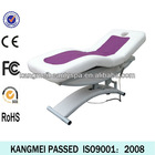2014 electric spa facial table&used spa facial bed& folding massage facial bed portable (KM-8809)
