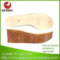 Mode sandale flach frauen dicke pu-sohle