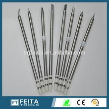 T12 Hakko soldering iron tips lead free solder iron tip cleaner