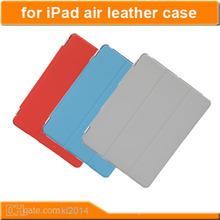 fashionable pu leather cases fold stand leather case for ipad mini genuine leather case
