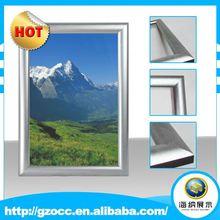 Contemporary big size digital photo frame,metal family tree photo frame